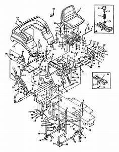 Husqvarna Lt 1000-14 Parts List And Diagram