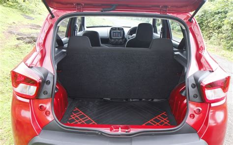 renault kwid boot space renault kwid first drive review bookings open car india