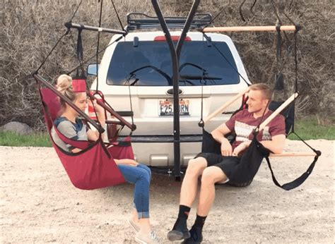 Car Hammock Diy by This Gadget Lets You Set Up A Hammock Anywhere You Can