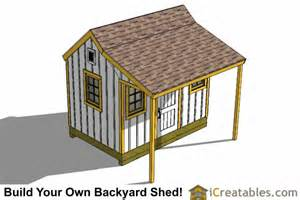 plans for garden sheds with porches shed builder