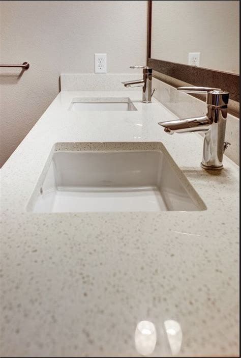 Quartz Bathroom Countertops With Sink 17 Best Images About Backsplash Ideas On