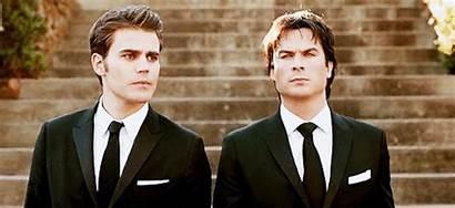 Salvatore Damon Stefan Vampire Diaries Wesley Paul