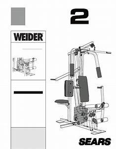 Weider Home Gym 831 159360 User Guide