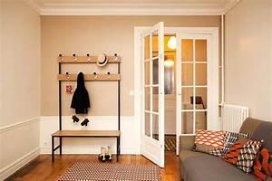 Banc Pour Dressing : banc porte manteau maxi hall scandinave entr e ~ Teatrodelosmanantiales.com Idées de Décoration