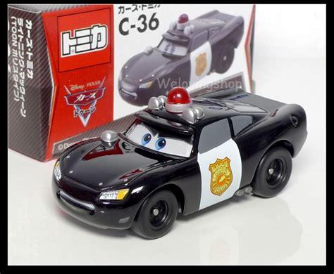 Tomica Disney C-36 Cars 2 Lightning Mcqueen Toon Police