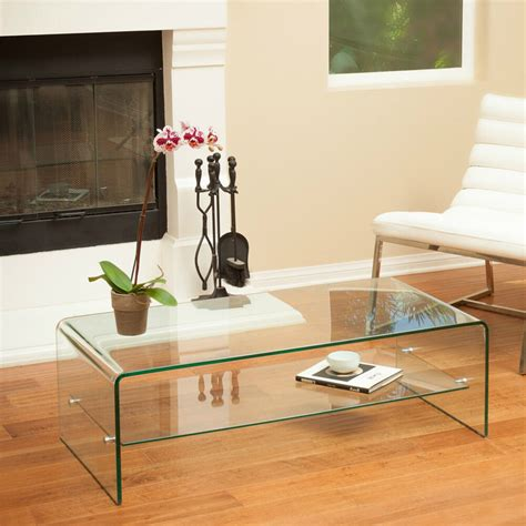 glass coffee table  accent solid elegant mid century
