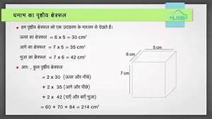 Surface Area Volume Hindi