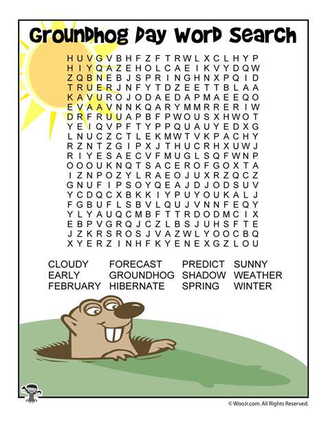 groundhog day word search woo jr kids activities