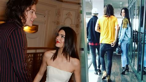 Harry Styles & Kendall Jenner Spotted Shopping