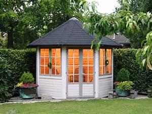 Gartenhaus Mit Aufbauservice : geschlossener holzpavillon palma von wolff finnhaus ~ Whattoseeinmadrid.com Haus und Dekorationen