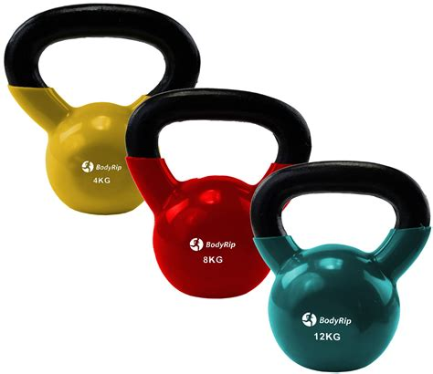 kettlebell kettle weights bell workout iron gym fitness exercise cast kettlebells training strength