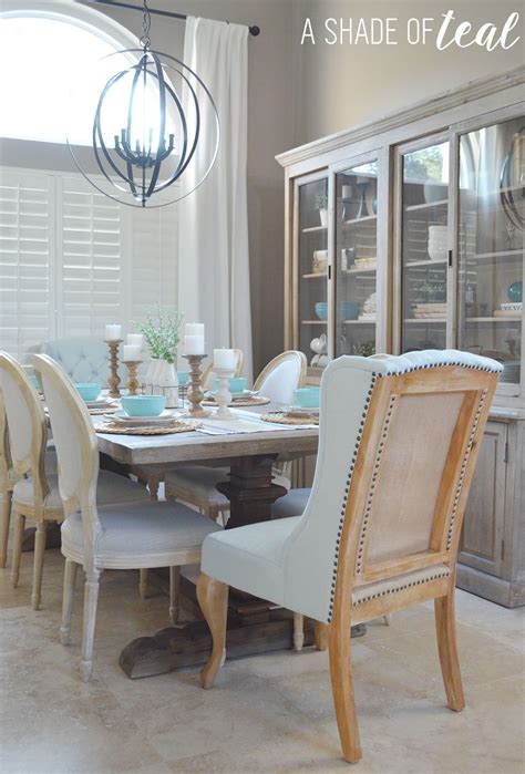 dineing room modern rustic dining living room orc dining room reveal