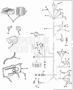 Volvo Penta Exploded View    Schematic Engine Harness 5