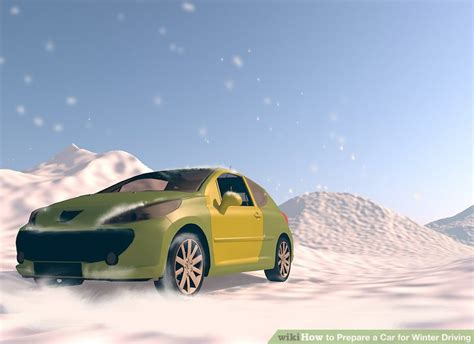 How To Prepare A Car For Winter Driving