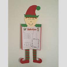 Elf Application  First Grade Writing Prompt Worksheet Idea  Elf Ideas  Christmas, 12 Days Of