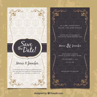template undangan pernikahan gratis unik  terbaik