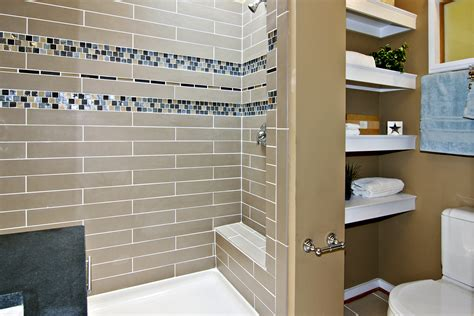 mosaic tiled bathrooms ideas bathroom tiled shower wall panel with glass mosaic accent plus f