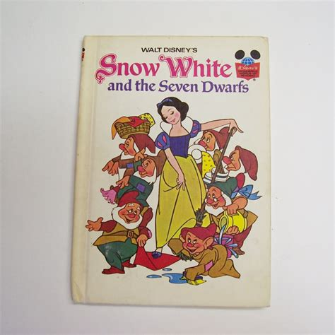 Snow White And The Seven Dwarfs Hard Bound Book From