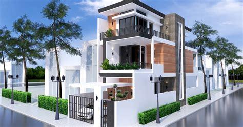 sketchup home elevation design  samphoas house plan