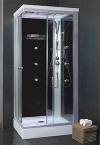 free standing shower stalls Free Standing Shower Stall Enclosure | laundry room ...