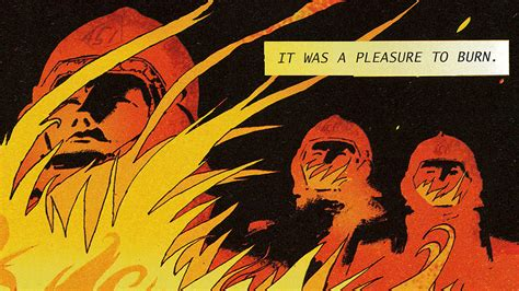 Reimagining 'fahrenheit 451' As A Graphic Novel