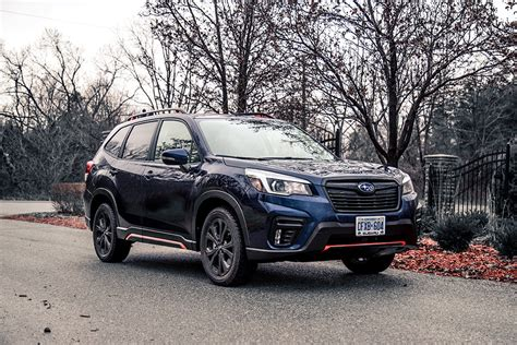 review  subaru forester sport car