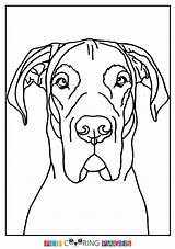 Coloring Pages Dane Printable Moose Getdrawings Dog Colouring Sketches Getcolorings Purse sketch template