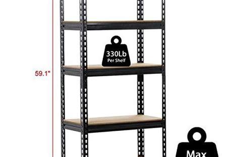 yaheetech heavy duty metal storage sheleves adjustable