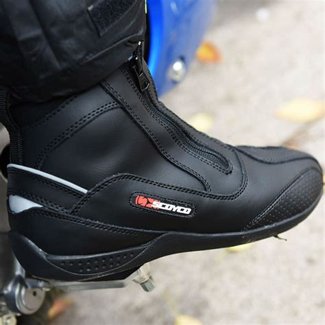 road motorbike boots sport road professional shoes moto racing leather