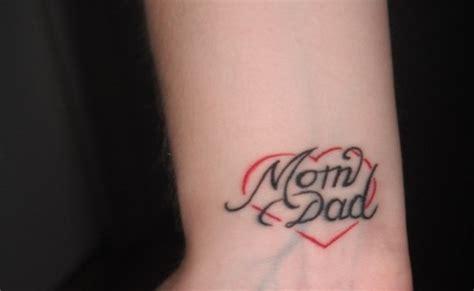 Tattoo Mom Dad Heart
