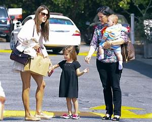 Alessandra Ambrosio & Children Enjoy Sunny Day at The ...