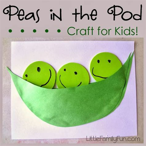 pea pod craft for easy and interactive 872 | a5aad479e244f2fec167ea4c62f691e0