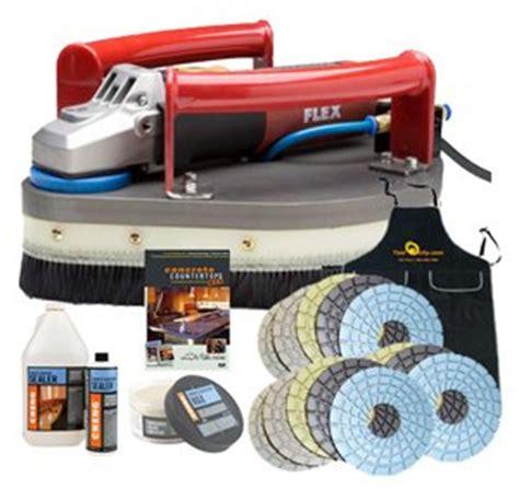 concrete countertop tools flex lcp1703vr planetary polisher package for polishing