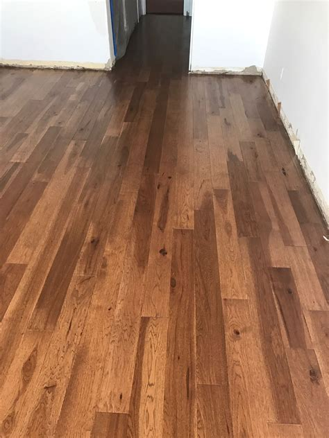Before & After Of New Hardwood Floors Installation Eagle