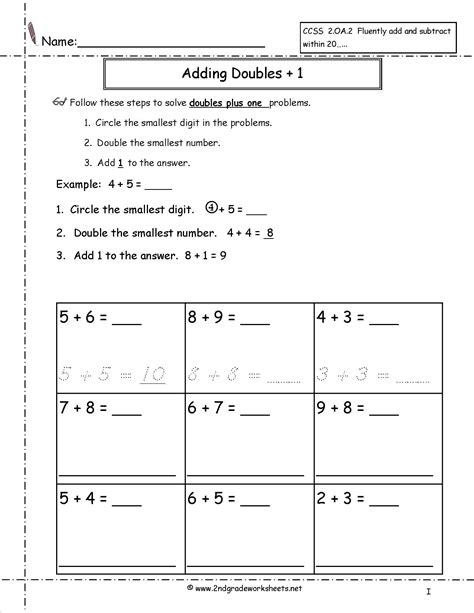 Worksheet Doubles Worksheet Grass Fedjp Worksheet Study Site