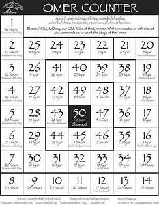 Counting The Omer Chart 5776 Yahoo Image Search Results