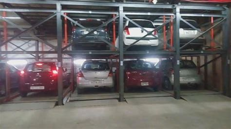 Puzzle Type Multi Level Car Parking System-e Star