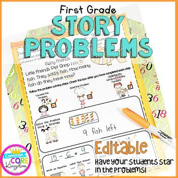 Even second graders solve these type of i'm not familiar with the cubes strategy. First Grade Word Problems Common Core 1.OA.1 & 1.0A.2 by ...