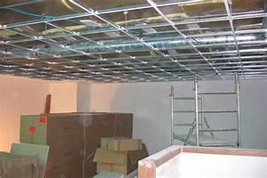 Installer Faux Plafond : prix pose faux plafond tarif moyen et conseils 2018 ~ Melissatoandfro.com Idées de Décoration