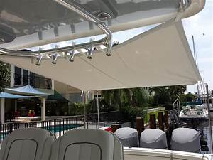 Boat Shade Cockpit Cover And Boat Awnings Modern Yacht