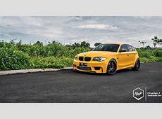 Yellow Fascination BMW 1M Hatchback autoevolution