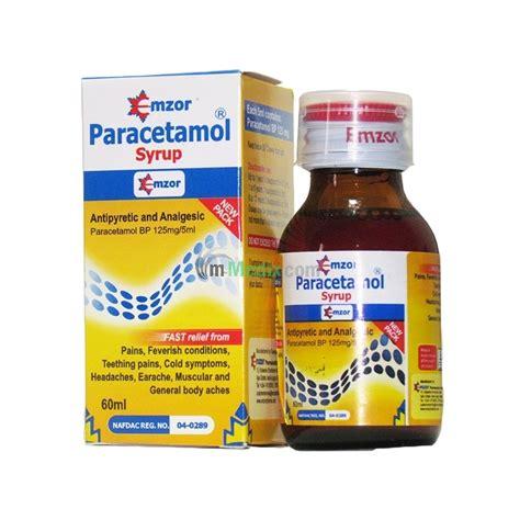panadol syr 60ml emzor paracetamol syrup 60ml m medix