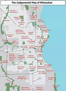 """Here's a pretty awful """"judgmental map of Milwaukee"""""""