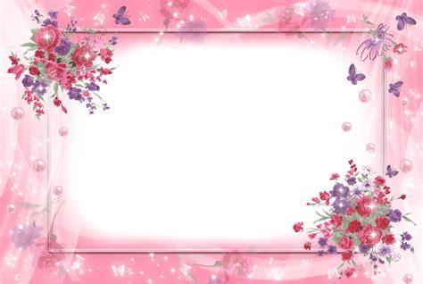 gambar koleksi floral frames pendidiku contoh frame bunga