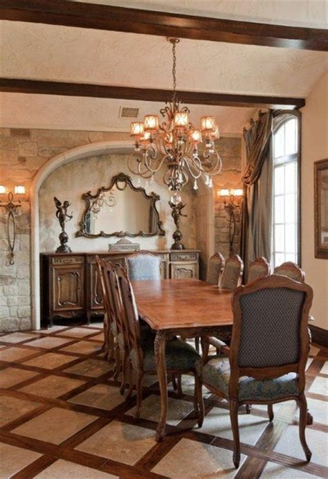 french country estate traditional dining room austin