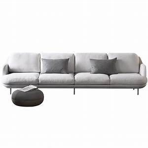Sofa 4 Sitzer : 4 sitzer sofa lune von fritz hansen ~ Eleganceandgraceweddings.com Haus und Dekorationen