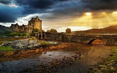 Donan Castle Eilean Wallpapers Backgrounds