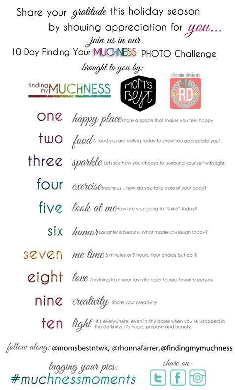 10 Day Muchness Challenge!!  Finding My Muchness