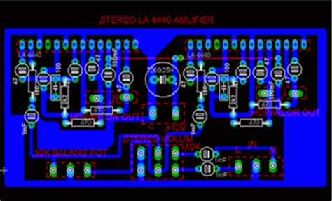 ic la  watt bridge amplifier circuit diagram