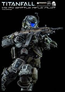 TITANFALL 1/6 IMC Battle Rifle Pilot